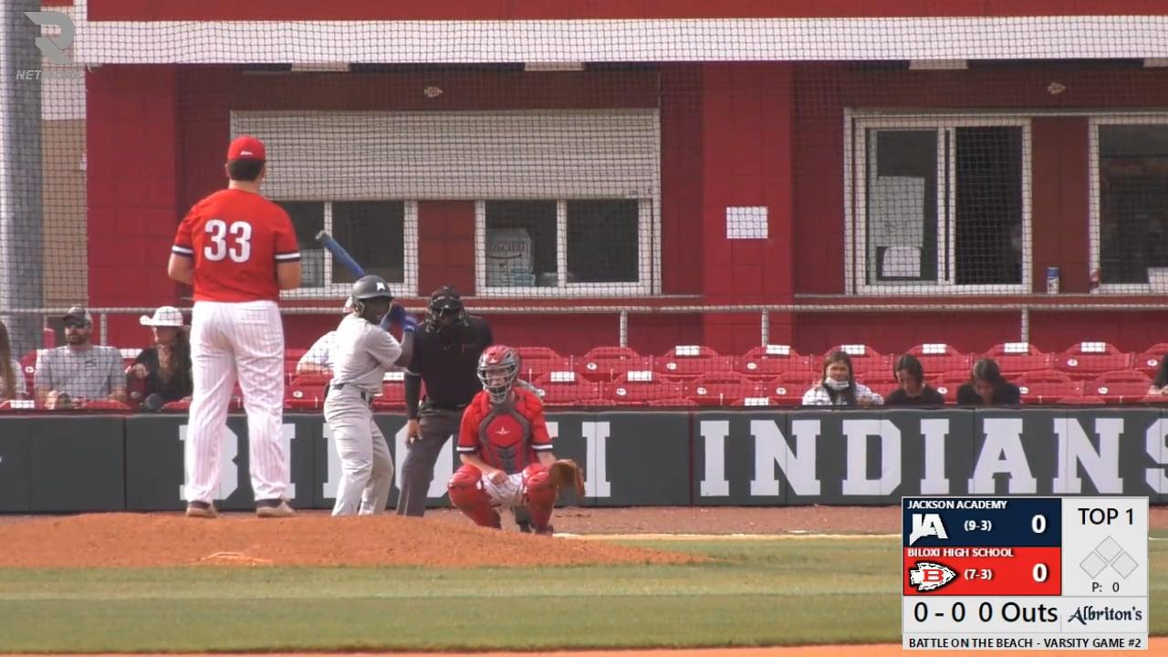 Varsity Baseball vs Biloxi - 03-16-21