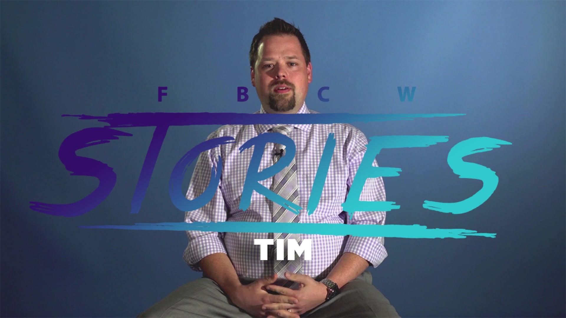 FBCW Stories Tim