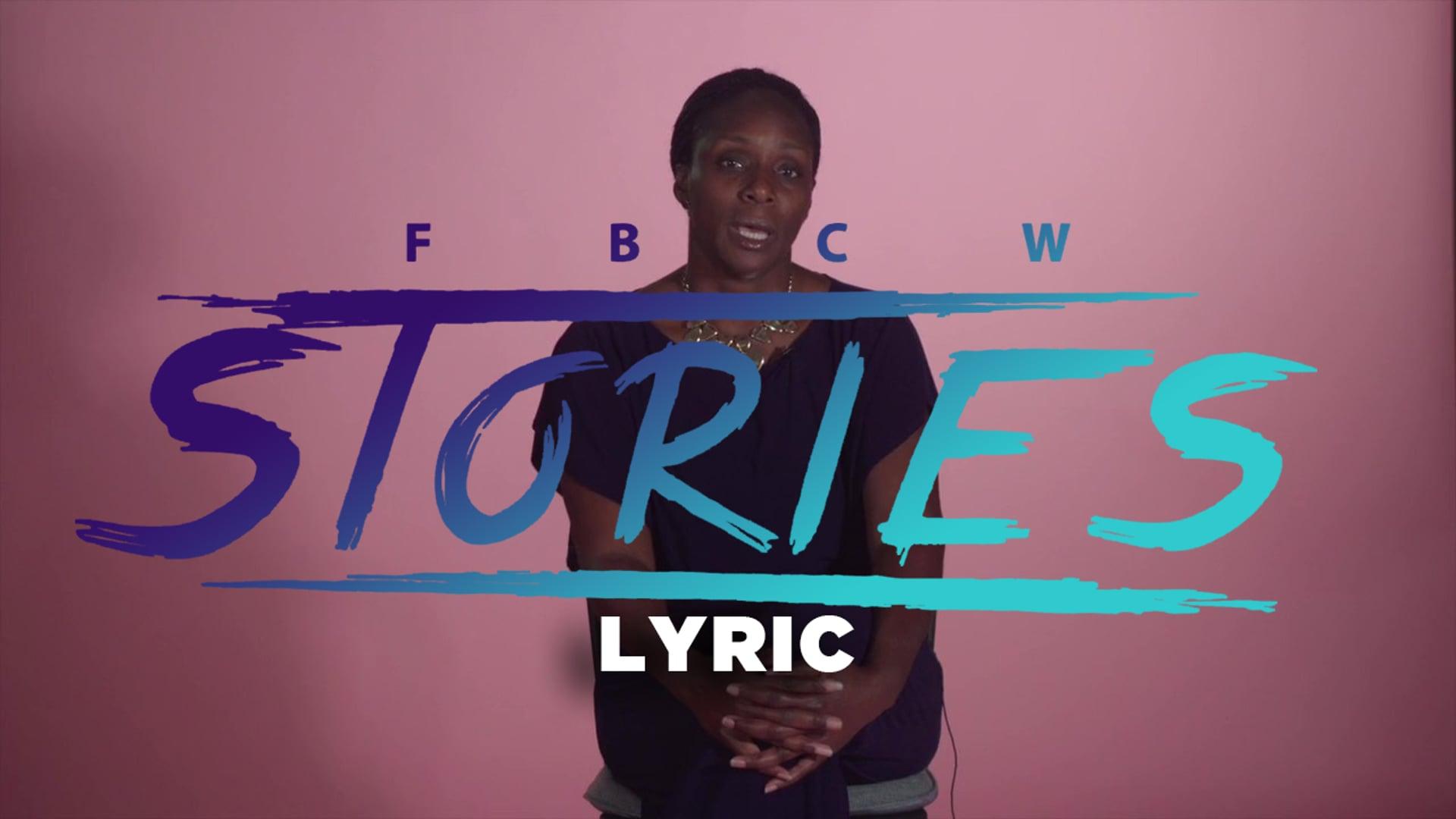 FBCW Stories Lyric