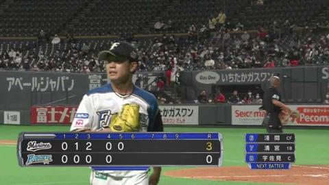 【5回表】ファイターズ・福田 1イニングを3者凡退に抑える好投!! 2021/3/17 F-M