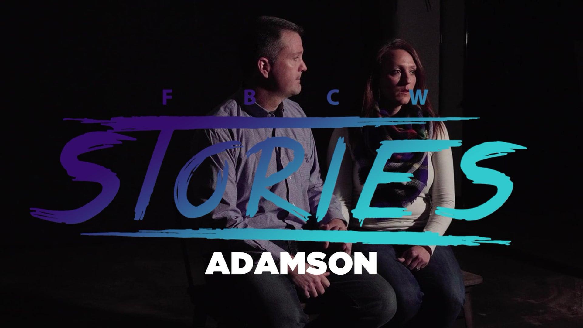 FBCW Stories Adamson