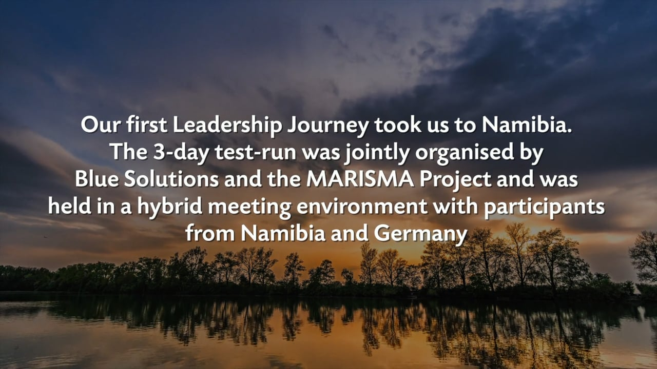 Outcomes of the leadership journey in Namibia