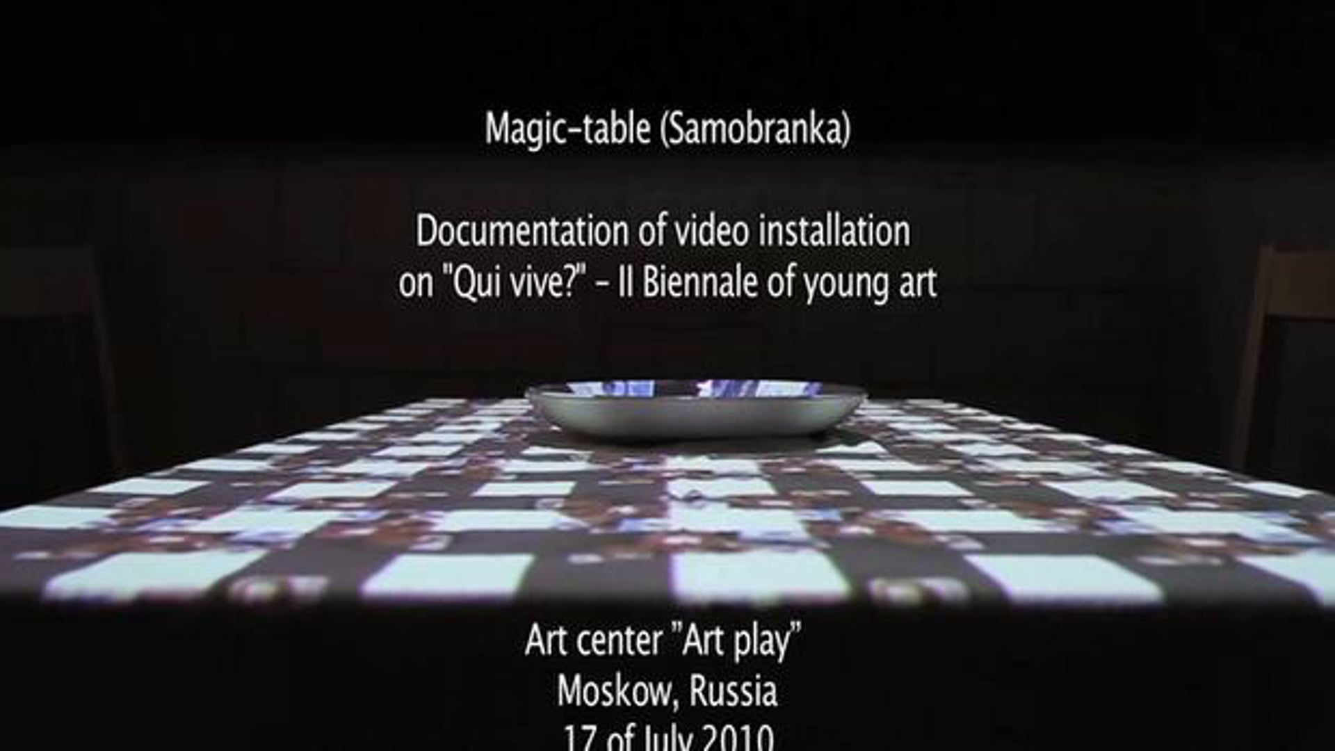 Samobranka (Magic table-cloth)