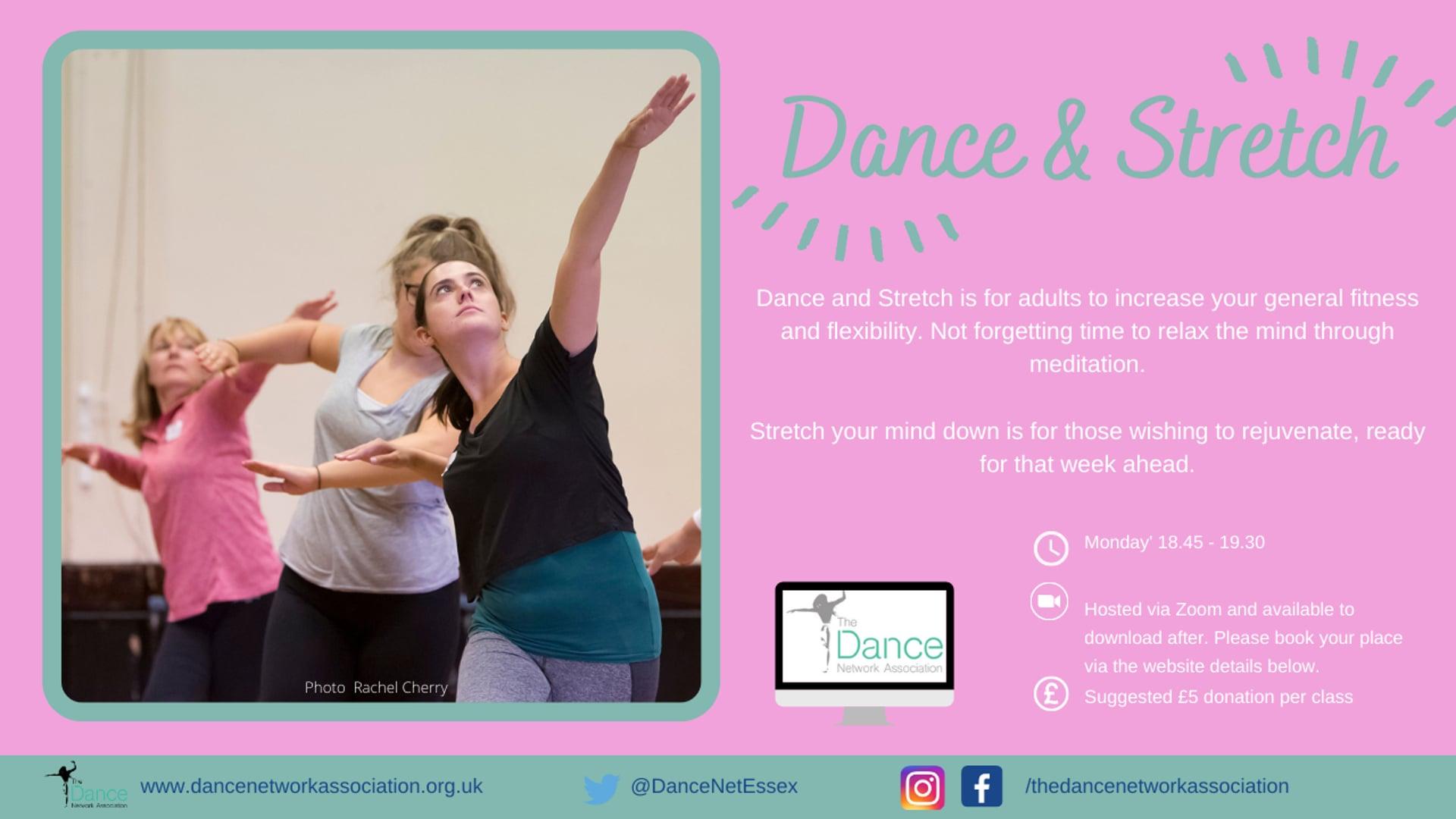 Dance & Stretch February 2021 B