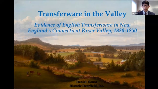 Transferware in the Valley: Evidence of English Transferware in New England's Connecticut River Valley, 1820-1850