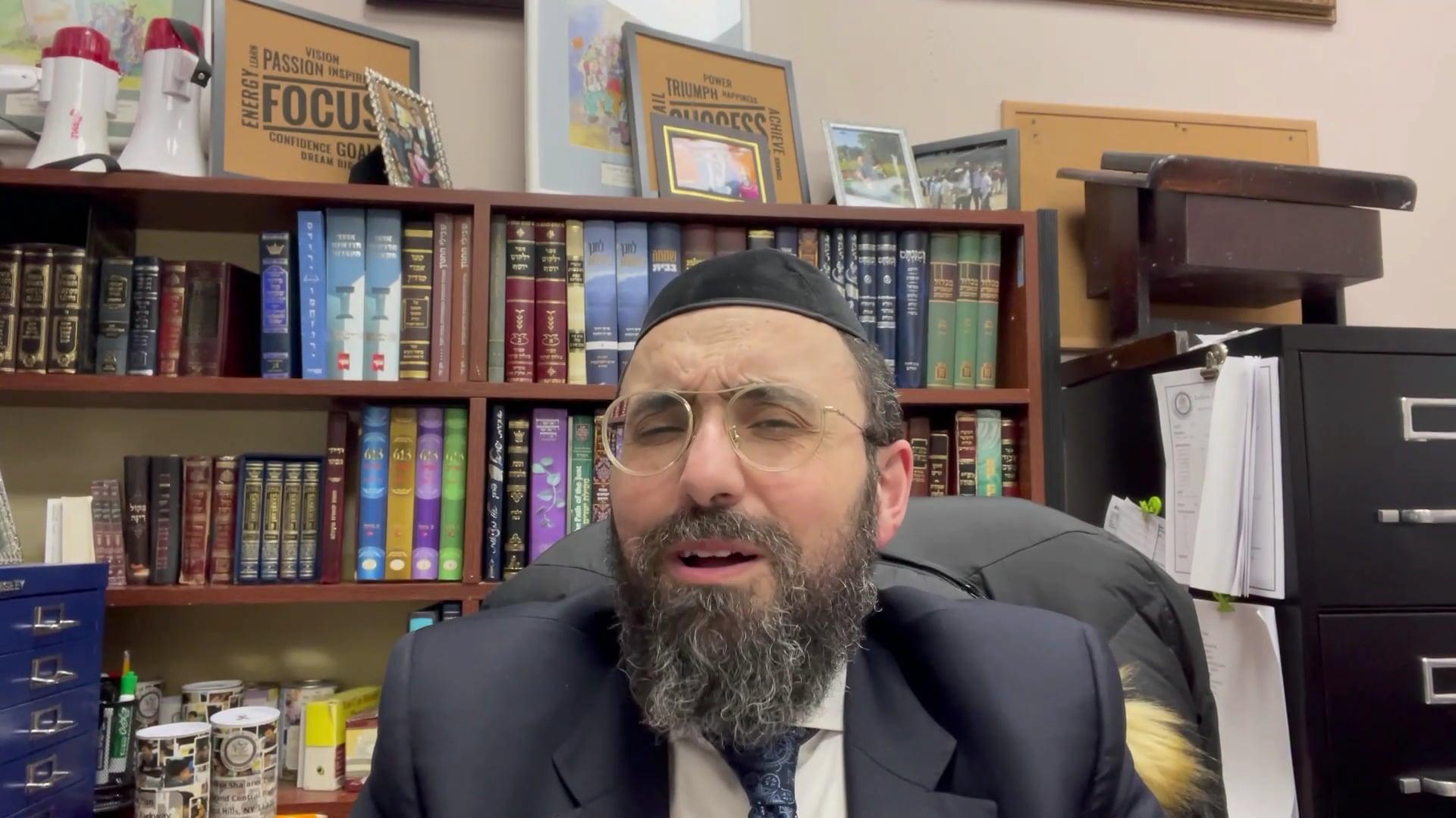 Rabbi Ben Mordechai: Chinuch in the Parasha - Parshat Vayikra