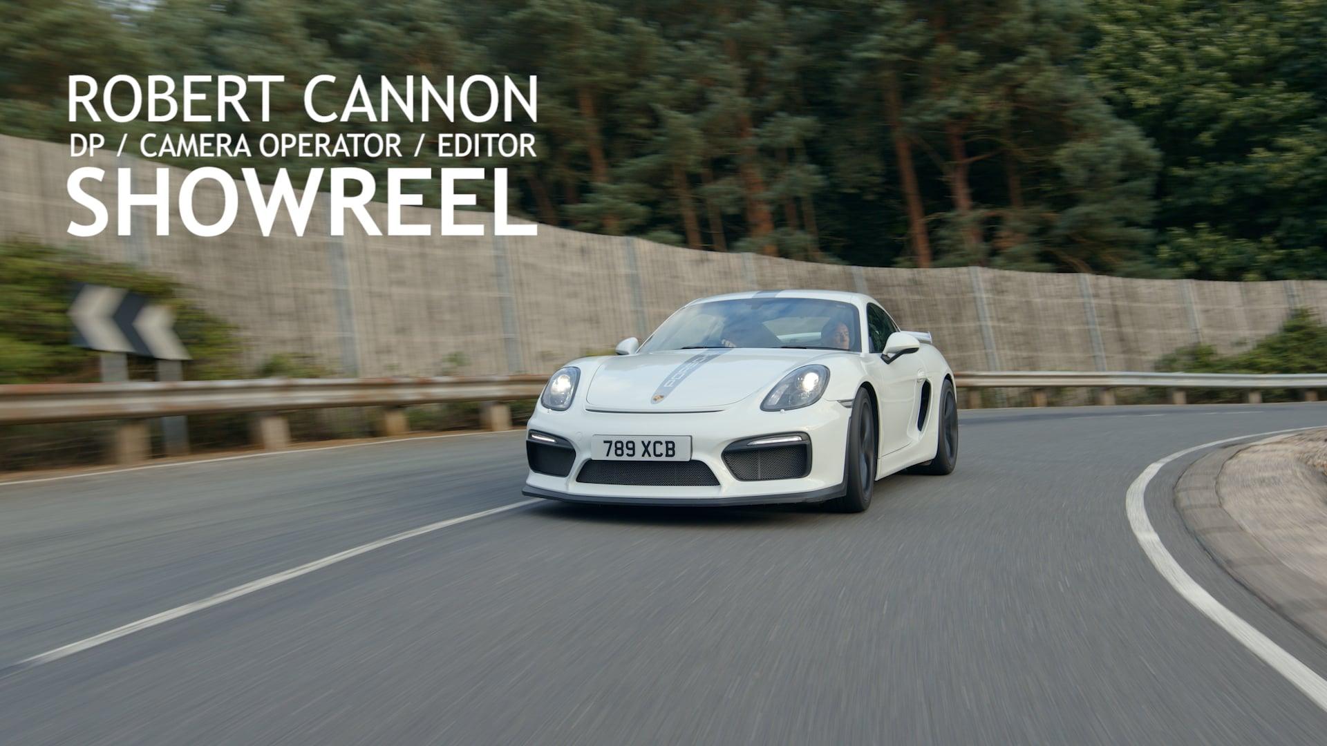 Robert Cannon - DP/CameraOp Showreel