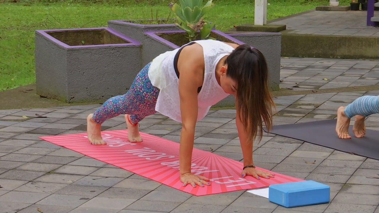 Yoga Vinyasa Abdomen Fuerte