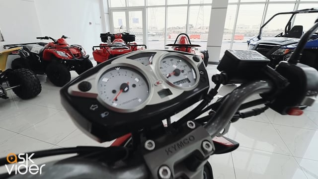 KYMCO RS 125 - RED - 2014