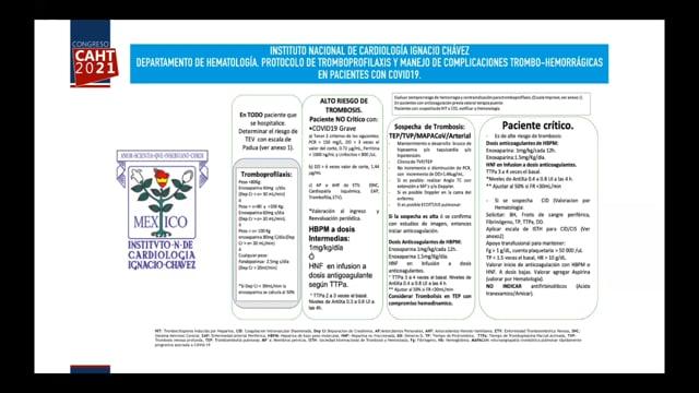 """Experiencia del Instituto Nacional de Cardiología """"Ignacio Chávez"""" - Dra Adriana Torres Machorro"""