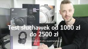 Słuchawki od 1000 zł do 2500 zł