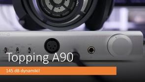 Wzmacniacz słuchawkowy Topping A90