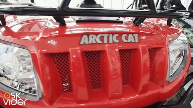 ARCTIC CAT TBX 700 - RED...