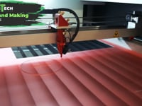 Making a Cupcake Stand On a CO2 Laser - Mantech.mp4