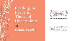 Donna Paulk Equip Conference 2021 | SBCV