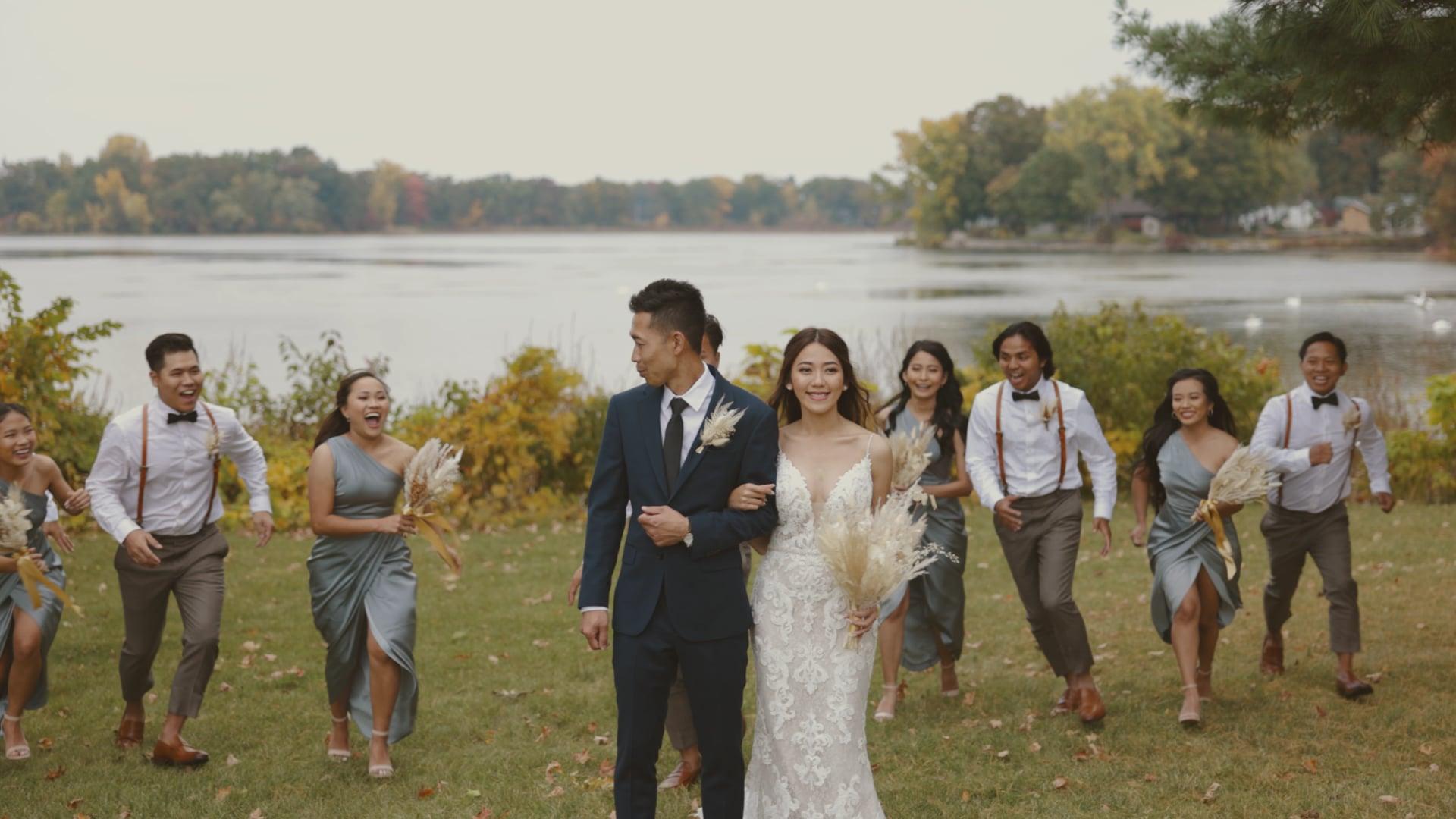 A Wedding With A Dance Battle? | David & DeDe | Wedding Film