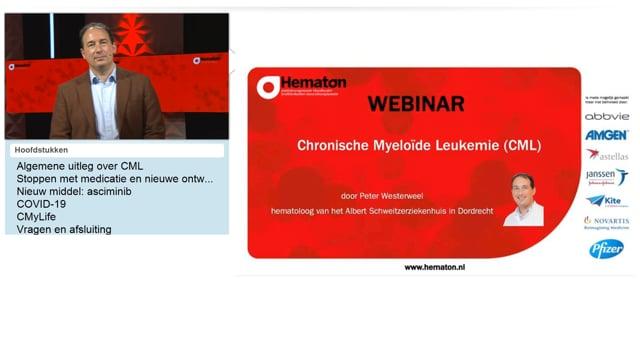 Webinar chronische myeloïde leukemie