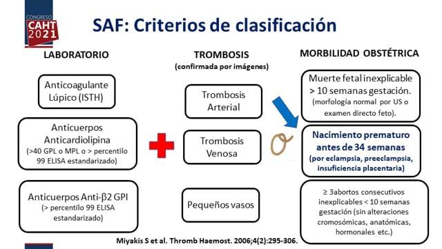 Aspectos hematológicos de la preeclampsia: aspirina, heparina ¿ambos? - Dra Beatriz Grand