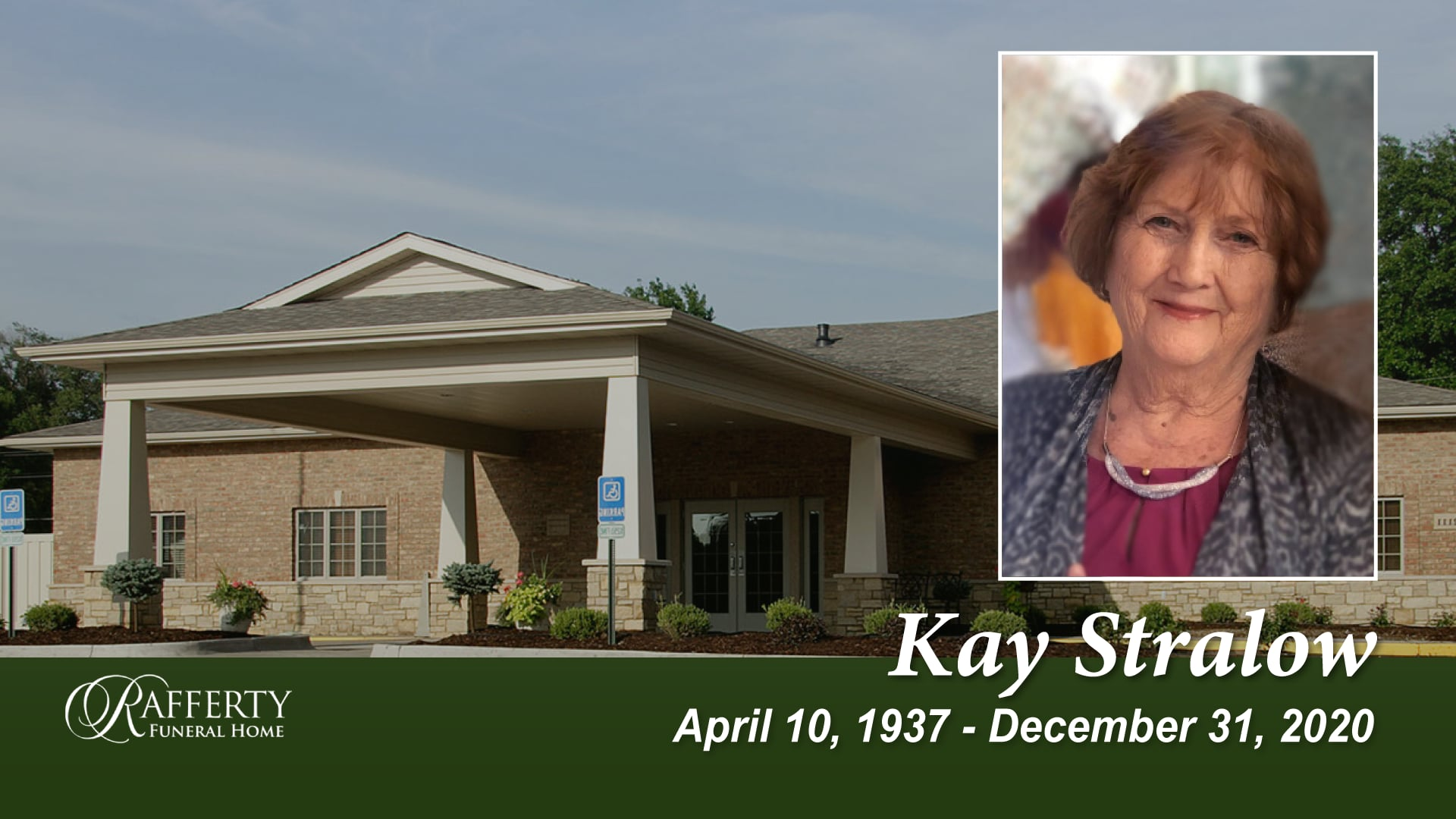 Funeral Service for Kay Stralow