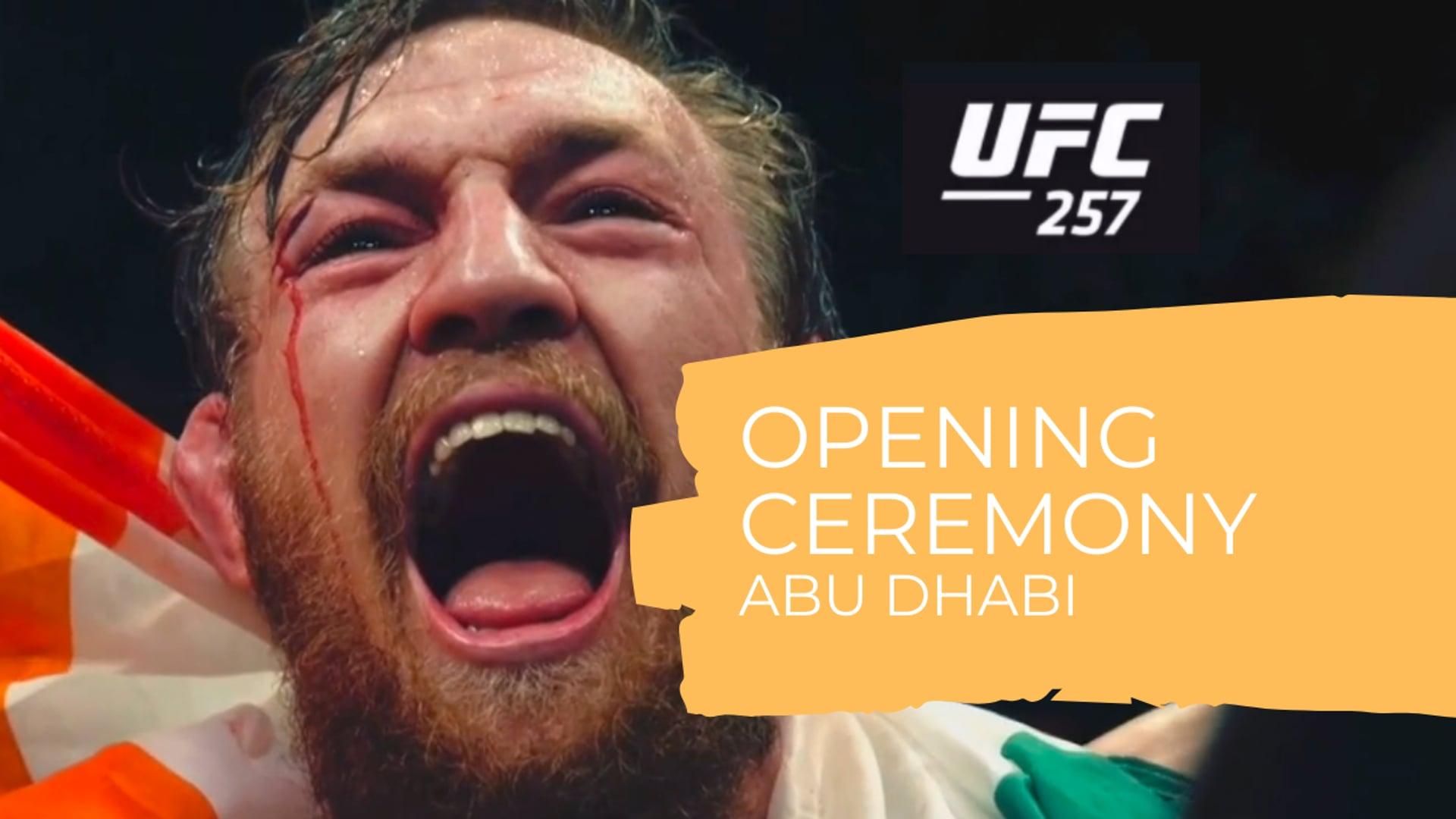 UFC/MMA Abu Dhabi 01/2021