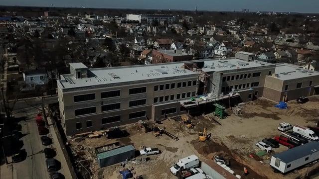Construction Update Rhodes Elementary School - Hempstead NY