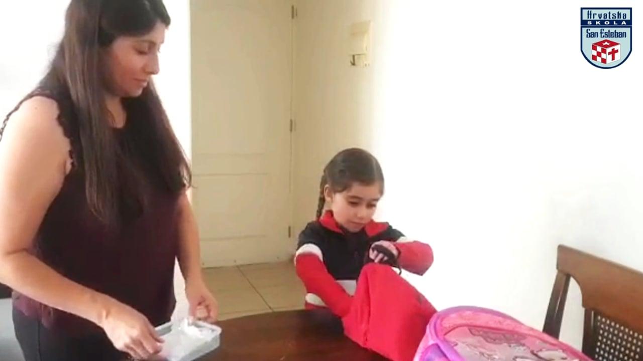 Agatha Obreque Varas; Kinder A. Retorno a clases HSSE.