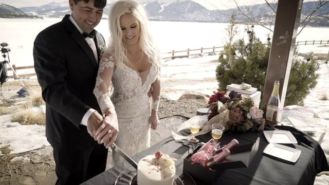 Shandell + Carlos Wedding Celebration Vows - Dillon CO - March 20, 2020
