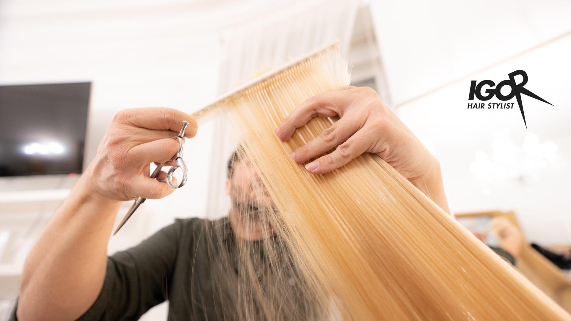 Igor hair stylist promo