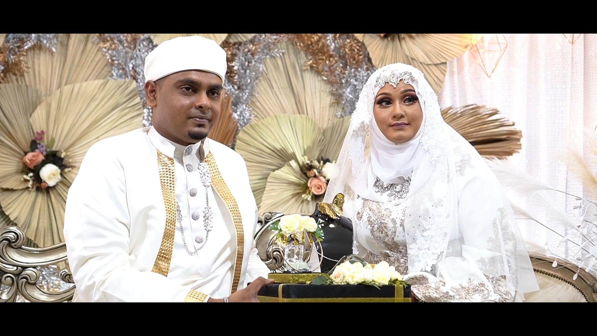 The wedding highlights of Regina & Ibrahim - 6th March 2021