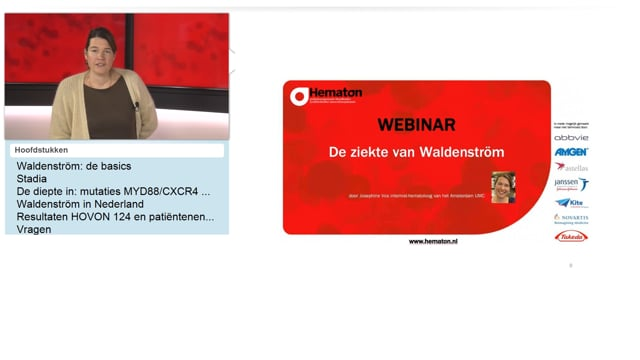 Webinar de ziekte van Waldenström