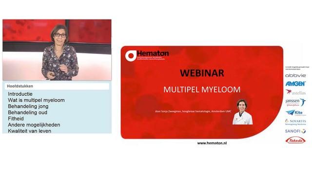 Webinar multipel myeloom