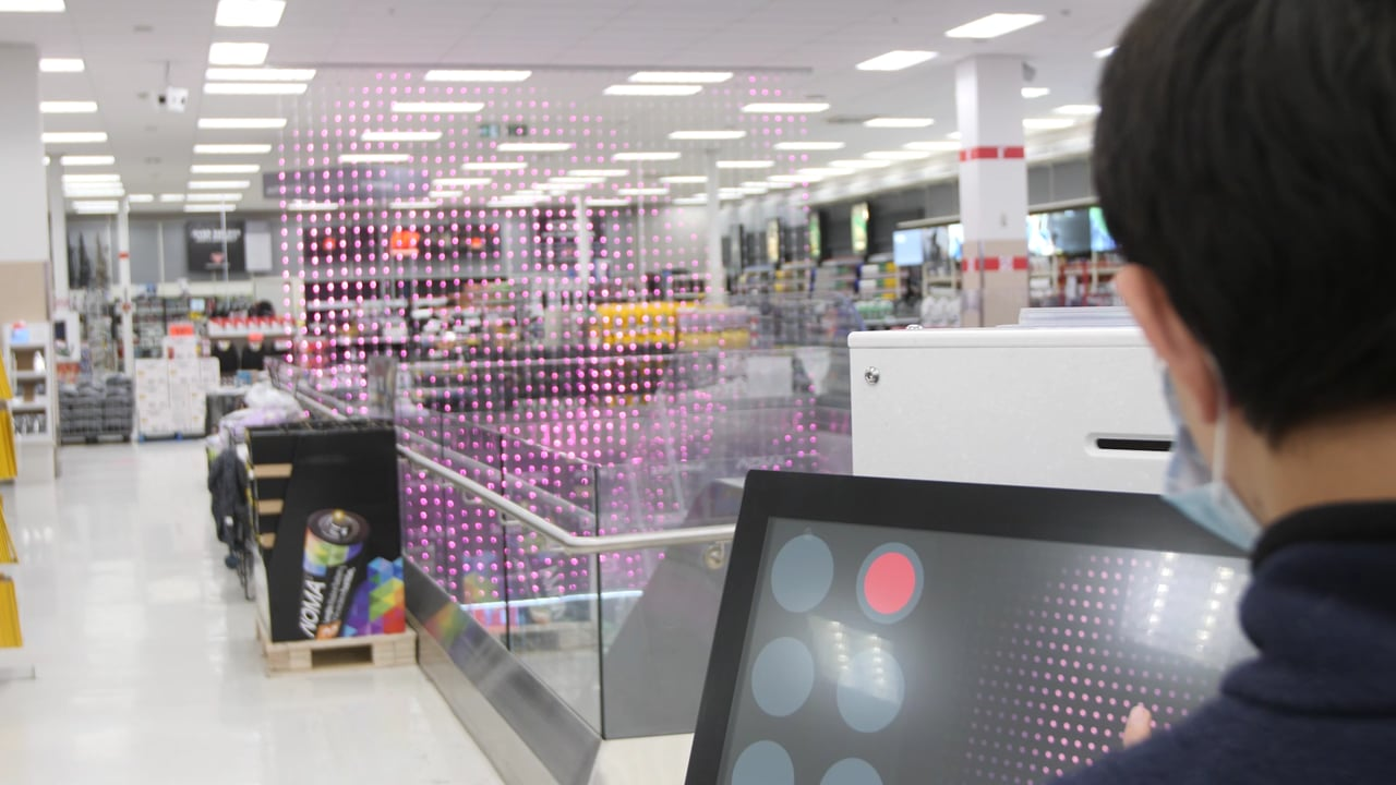 Aurora Touchscreen Experience At Canadian Tire | Limbic Media