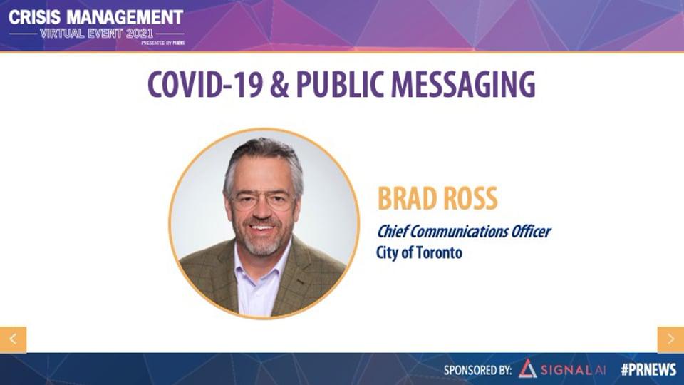 COVID-19 & Public Messaging