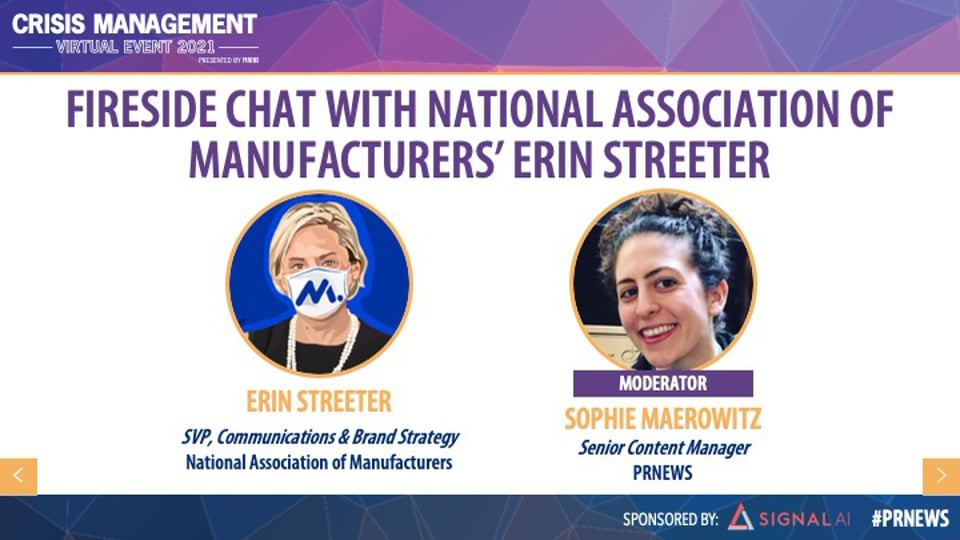 Fireside Chat with National Association of Manufacturers' Erin Streeter