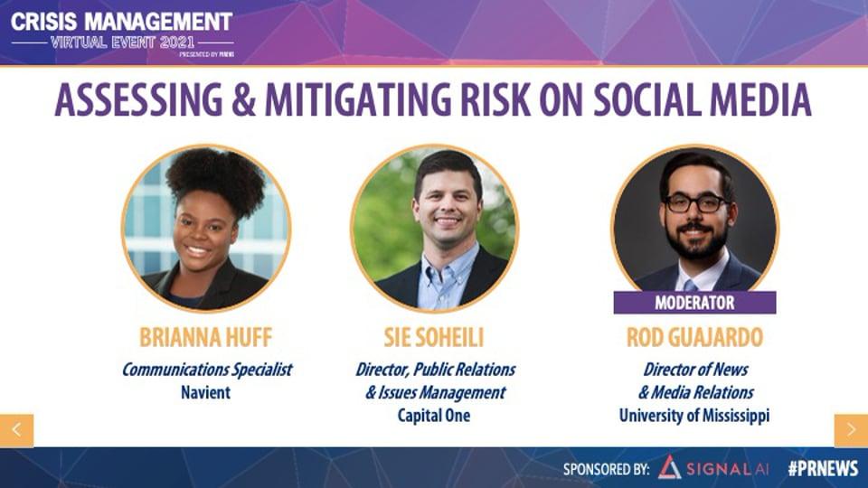 Assessing & Mitigating Risk on Social Media