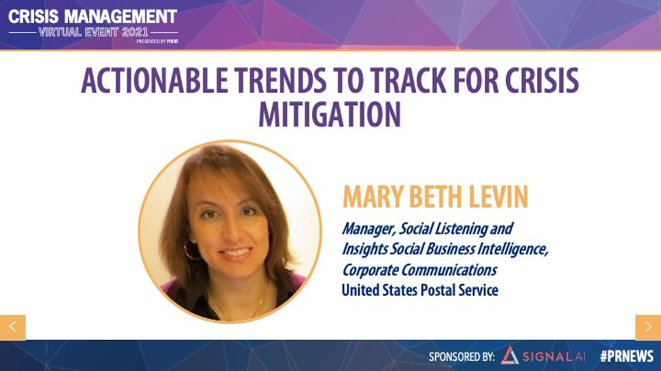 Actionable Trends to Track For Crisis Mitigation
