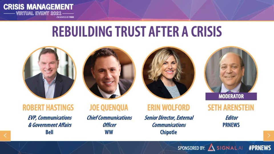 Rebuilding Trust After a Crisis