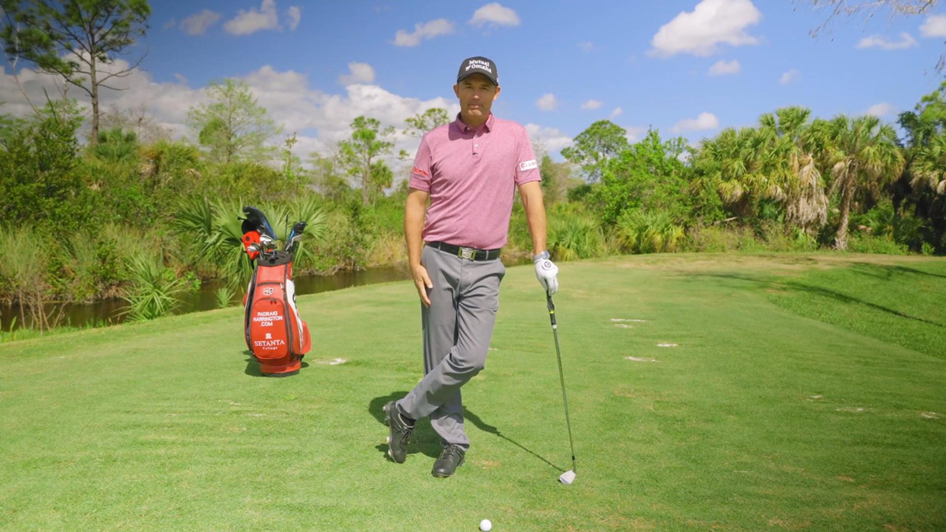 """Paddy's Golf Tips"" with Padraig Harrington"