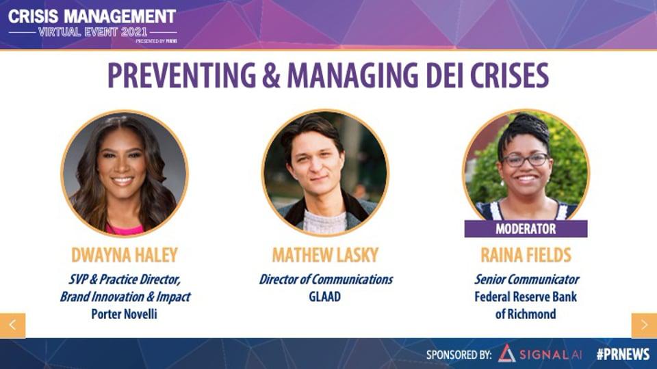 Preventing & Managing DEI Crises