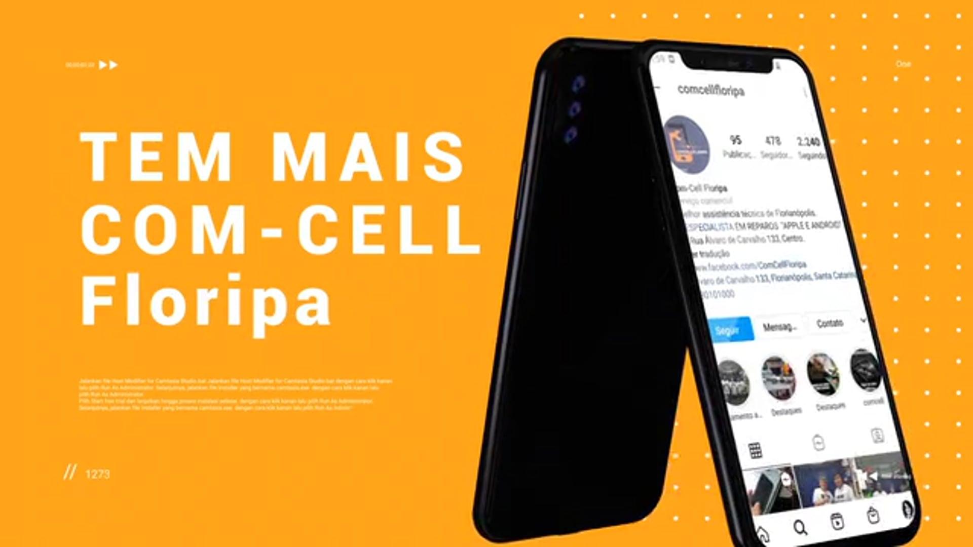 Vídeo Anúncio para COM-CELL Floripa.              | Agência Síntese |