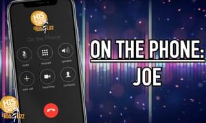 Joe Has a Message for Rob!