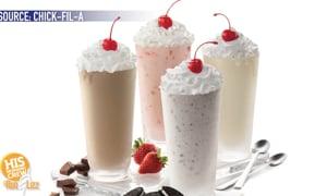 Chick Fil A is testing a new milkshake flavor!