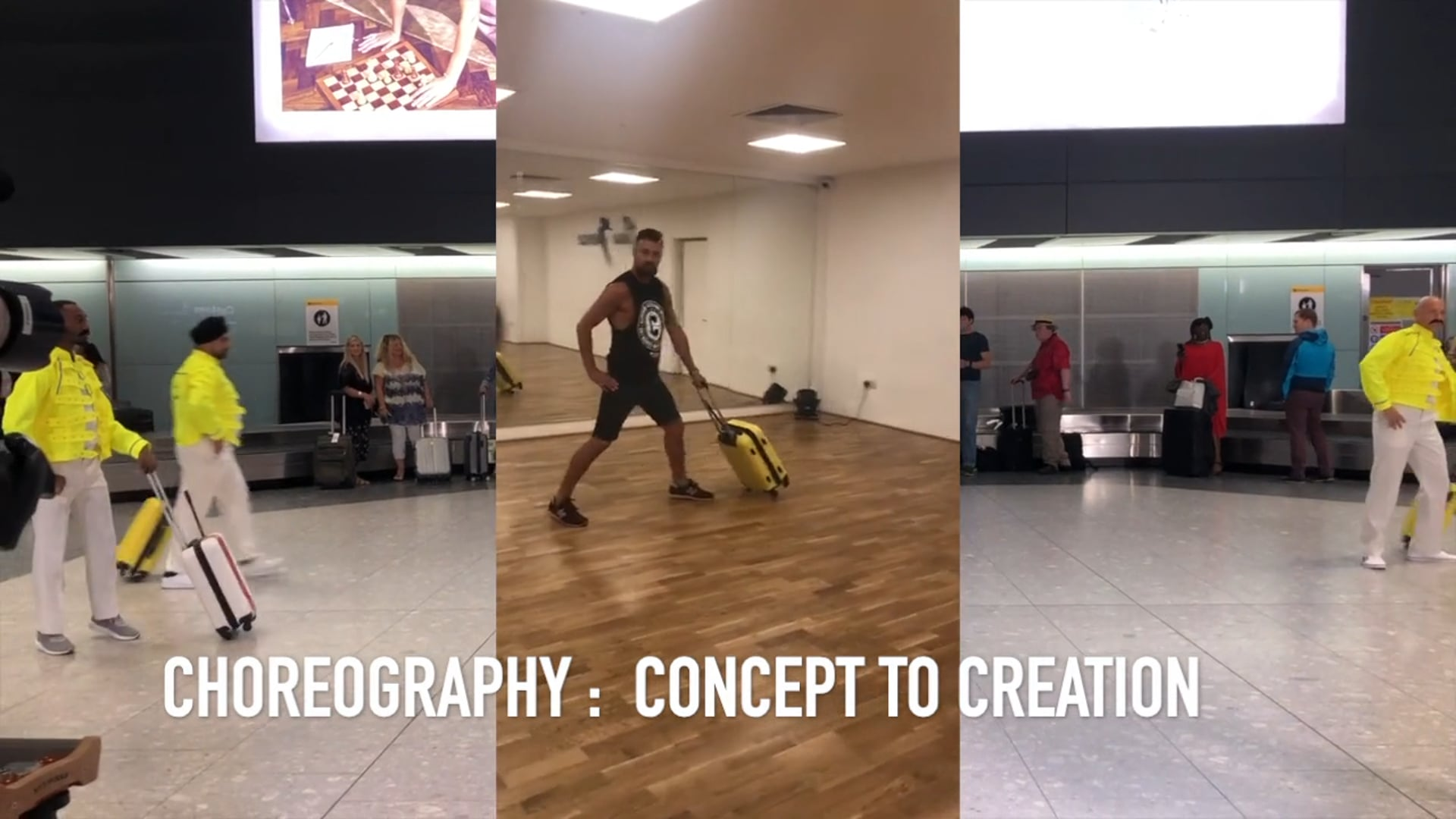 Bohemian Rhapsody Concept to Creation Dance Rehearsals .mov