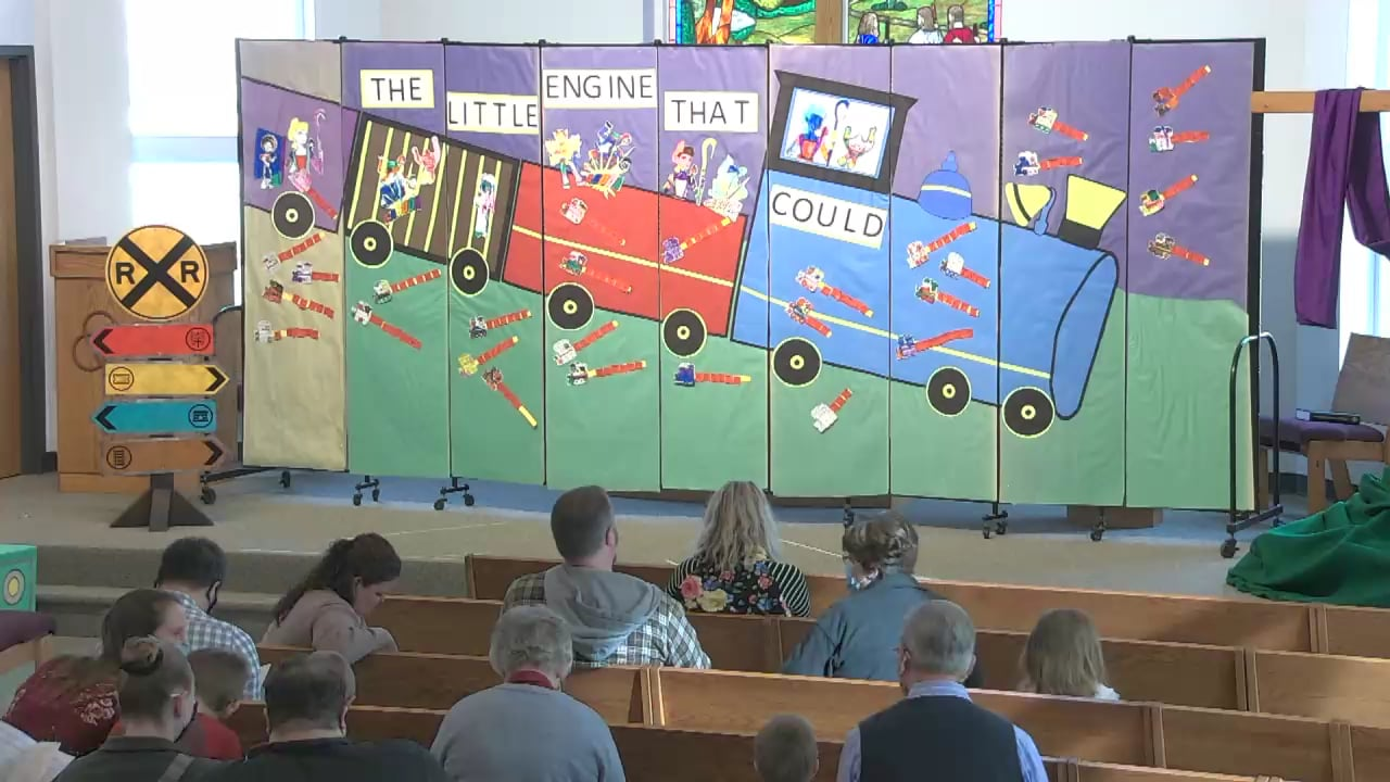 The Little Engine That Could- Preschool Spring Play- AM Class