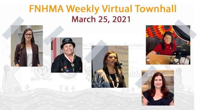 FNHMA Town Hall (FR) March 25, 2021