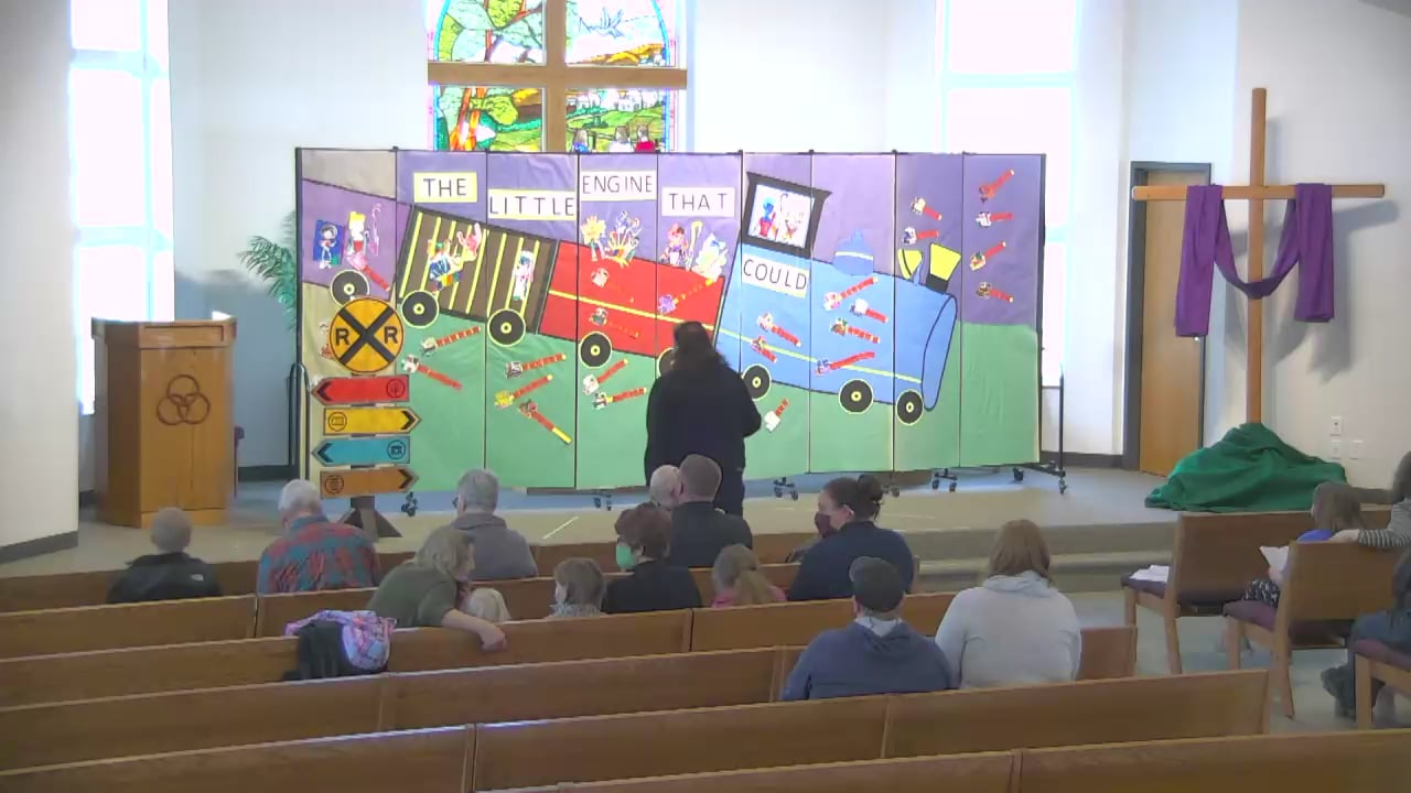 The Little Engine That Could- Preschool Spring Play PM Class