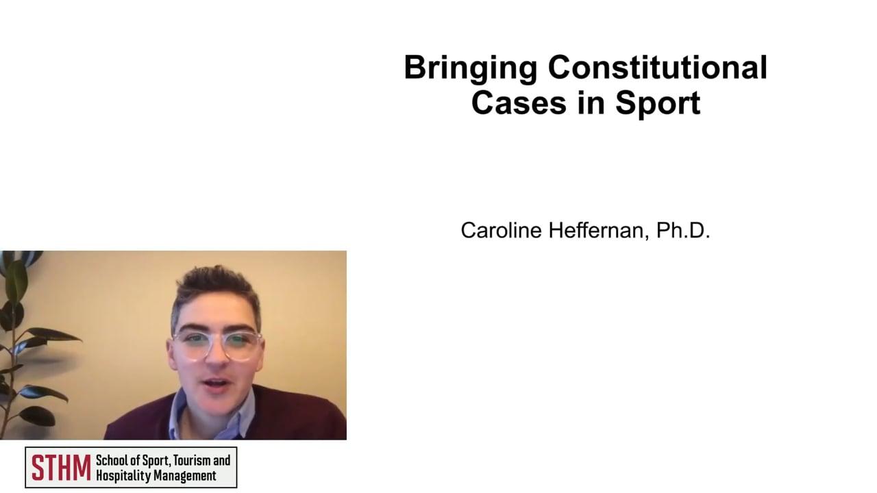 62018Bringing Constitutional Cases in Sport