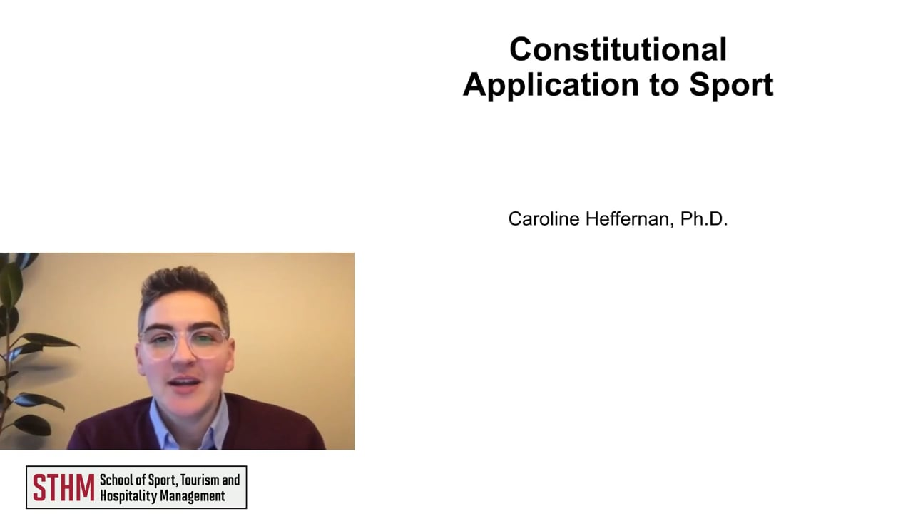 62019Constitutional Application to Sport
