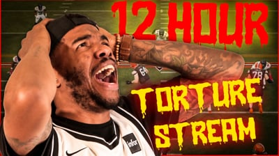 The Most Brutal 12 Hour Torture Stream Yet!?!