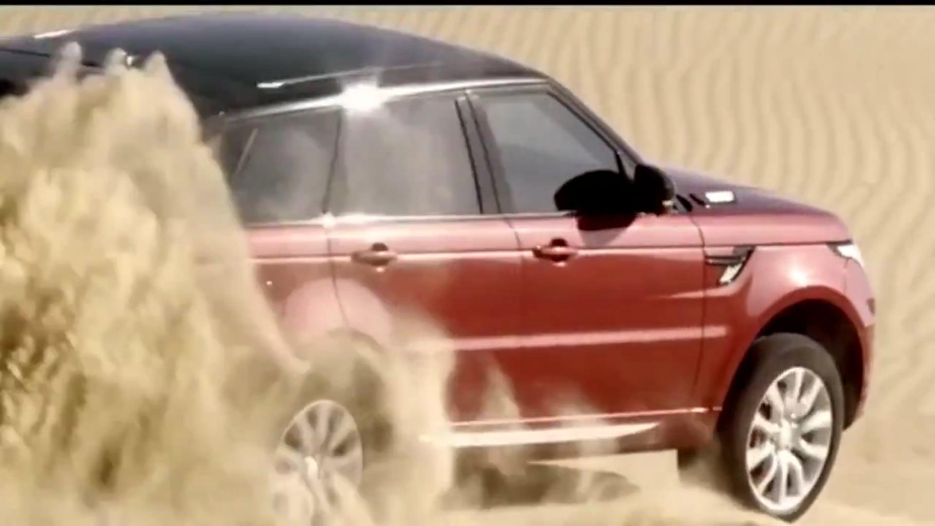 Range Rover conquers the Empty Quarter